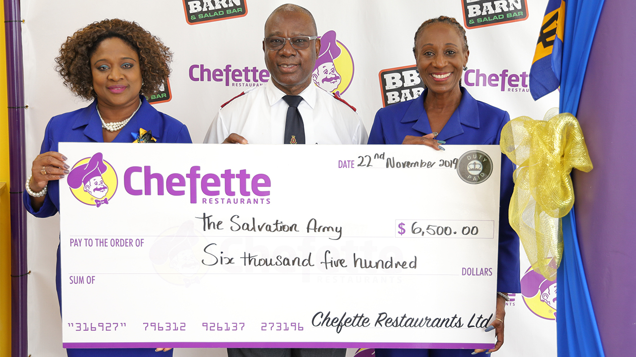Chefette Restaurants Assists The Salvation Army