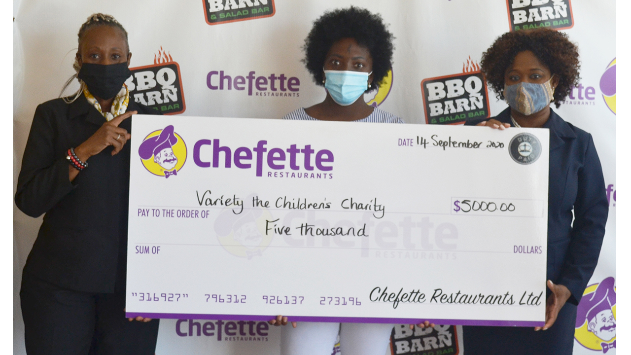 Variety the Children's Charity Benefits from Chefette Donation Box Programme
